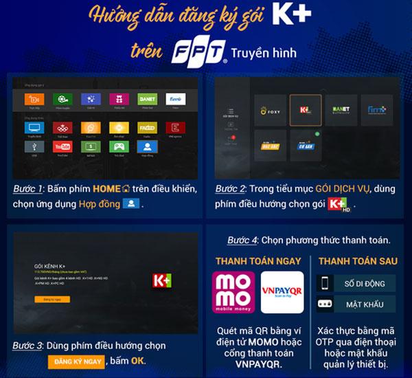 đăng ký k+ trên truyền hình fpt