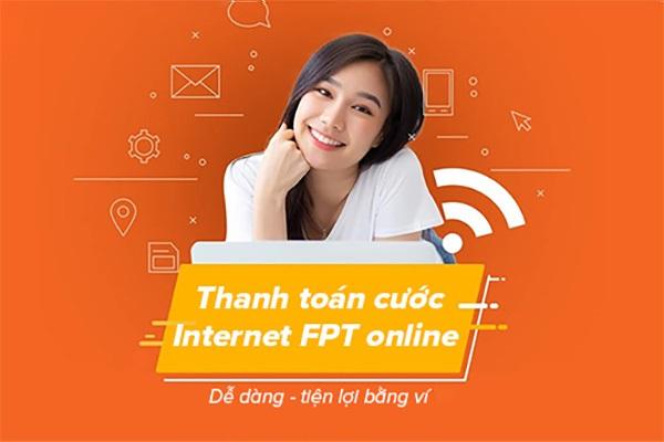 thanh toán cước internet fpt